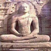 Gal Vihara Statue